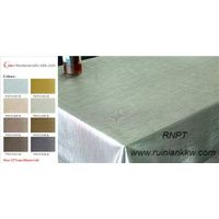 RNPT Deluxe Brushed Metallic table cloth