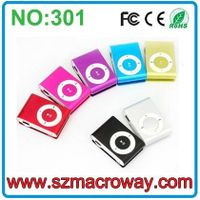 Factory direct sales clip mini mp3 Player download free mp3 songs