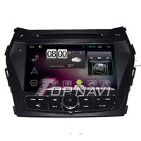 800*480 8inch Android 4.4 Car GPS Player Video For Hyundai IX45 Navigation Ipod