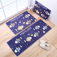 Cartoon Style Home Decor Carpet Printed Polyester Floor Carpets Rugs for Bedroom 3D Entrance Doormat