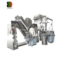 V shaped mixer mixing machine with forced stir thumbnail image