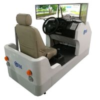 Advance car driving simulator(3 screens)
