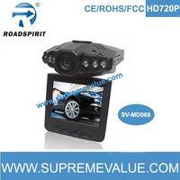 720p car camera recorder wih rotatable screen 270 degree thumbnail image