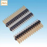 2.54mm pitch dual row SMD PIN header male connector