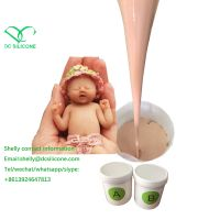 low hardness super soft food grade rtv2 silicone rubber for artificial pussy reborn baby dildo makin