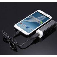 Lipstick 2600mAh Portable Power Bank External Backup Power Bank for iPhone5/5s, Mobile Phone Battery