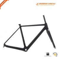 Factory price with best quality Cyclocross Disc Brake road carbon bike frame