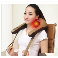 High quality electric kneading massage shawl for neck shoulder waist thumbnail image