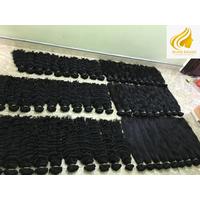 wavy natural color bulk hair 100% remy hair vietnamese virgin hair wholesale price