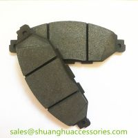 D1649 Brake pads for Infiniti auto car.semi metal,ISO9001:2008