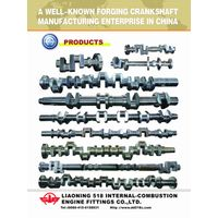 Medium Speed Man Marine Engine Crankshaft