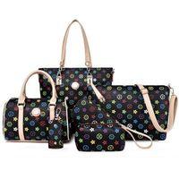 2018 New arrivals 6 pcs in 1 set handbags women handbag sets thumbnail image