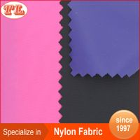 waterproof 70d 190t nylon taffeta fabric with soft PVC coated for raincoat rain jacket