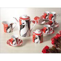 porcelain tea/coffee set