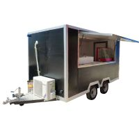 Commercial Mobile Street Fast Food Cart/Food Concession Trailer/Ice Cream Food Truck thumbnail image