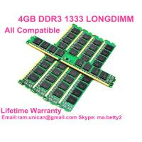 chinese cheap 4GB DDR3 1333MHz PC3-10600  full compatible