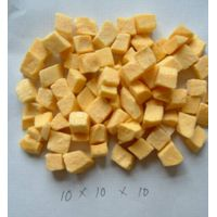 freeze dried yellow peach dice
