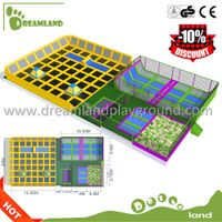 Professional Sport Funny Game Indoor trampoline park for jumping