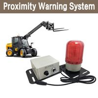 CareDrive forklift proximity warning and pedestrian detection system DAX202 thumbnail image