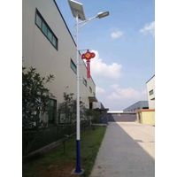 All in two Lithium battery solar power street lamps 40W thumbnail image