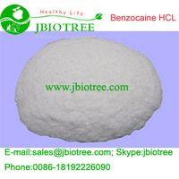 Manufacturer supply: 99.9% Benzocaine Hydrochloride,Benzocaine Hcl