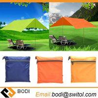 210T nylon fabric Ultralight Sun Shelter Camping Mat Beach Tent Pergola Awning Canopy 190T Taffeta