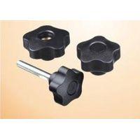 Black star knob plastic head screw/hand knob screw thumbnail image