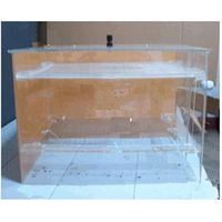 Electrostatic flocking box
