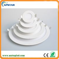 Ultra Slim 3w 6w 9w 12w 15w 18w Led Ceiling Recessed Round Led Panel Light Price