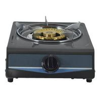 Stainless steel gas stove cooktop with brass burner cap
