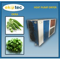 Eco-Friendly Herb Drying Cabinet Dryer for Okra / Heat Pump Tunnel Dryer for Vegetables Drying