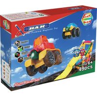 X-BAR STUNT RACER Educational magnetic block toy