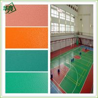 indoor  used pvc basketball flooring