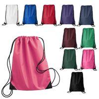 Cheap Customized OEM Nylon Polyester Cotton Shoe Gym Drawstring Bag
