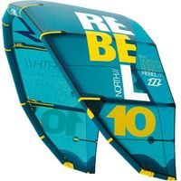 2014 North Rebel Kiteboarding Kitesurfing 12M Complete 5th Element Control Bar and lines