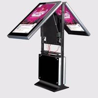 LCD floor stand digital display signage