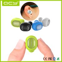 QCY Waterproof Q26 Running OEM Earpiece Wireless Mono Earphone thumbnail image