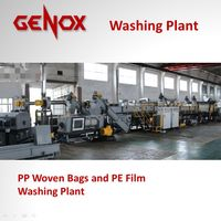 High Capacity PP Woven Bags Washing Plant/Washing Machine