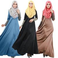 muslim women latest fashion islamic kaftan abaya dress thumbnail image