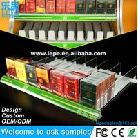 lepe hot selling cigarette automatic pusher use in supermarket and store thumbnail image
