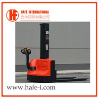 1ton 1.6m single mast simple mini electric lifter stacker