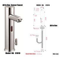 automatic sensor taps faucet model :B1010