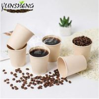 Sell Disposable Kraft or Bamboo Paper Coffee Cup thumbnail image