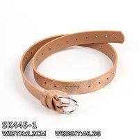 2017 fashion belt PU leather belt lady belt skinny belt