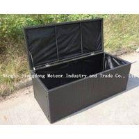 MTC-087 Resin wicker storage box UV resistance and waterproof