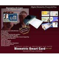 Biometric Digital Visa/Passport  with Match on Card (MoC) Technology