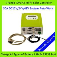2 Years Warranty 12V/24V/48V 30A MPPT solar charge controller PV Regulator 48V 30A charge controlle