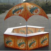 Partable exhibit booth,Portable Event Booth Tent,outdoor display gazebo