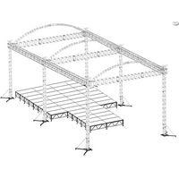 stage lighting truss system