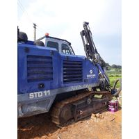 Used crawler drill machine SOOSAN STD11